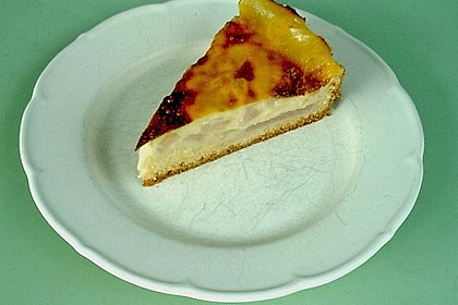 Apfelkuchen mit Pudding 13