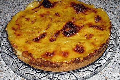Apfelkuchen mit Pudding 10