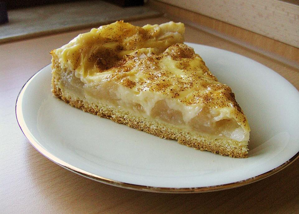 apfelkuchen mit pudding rezept mit bild von bezwinger