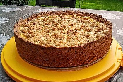 Apfelkuchen mit Pudding 0