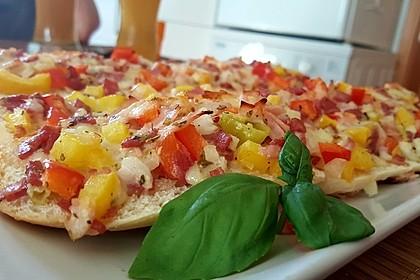 Pizza - Baguette - Brötchen