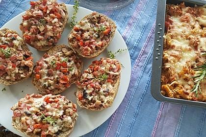 Pizza - Baguette - Brötchen 1
