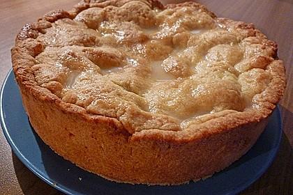 Gedeckter Apfelkuchen 3