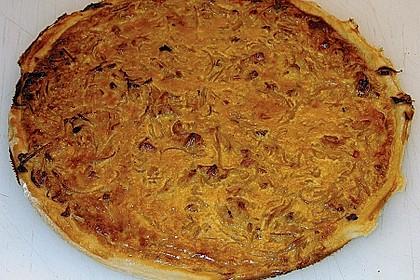 Flammkuchen / Zwiebelkuchen