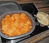 Brokkoli - Huhn mit Kartoffelchips (Bild)