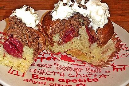 Donauwellen - Muffins 12