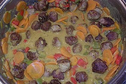 Curry - Bällchen 9