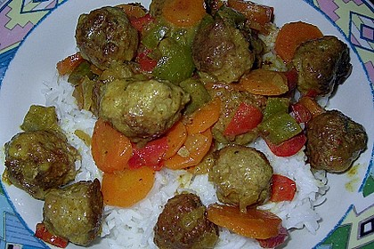 Curry - Bällchen 8
