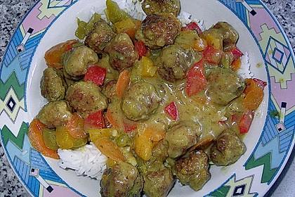 Curry - Bällchen 5