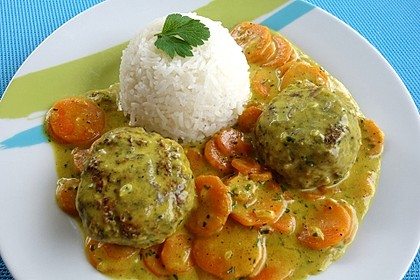 Curry - Bällchen