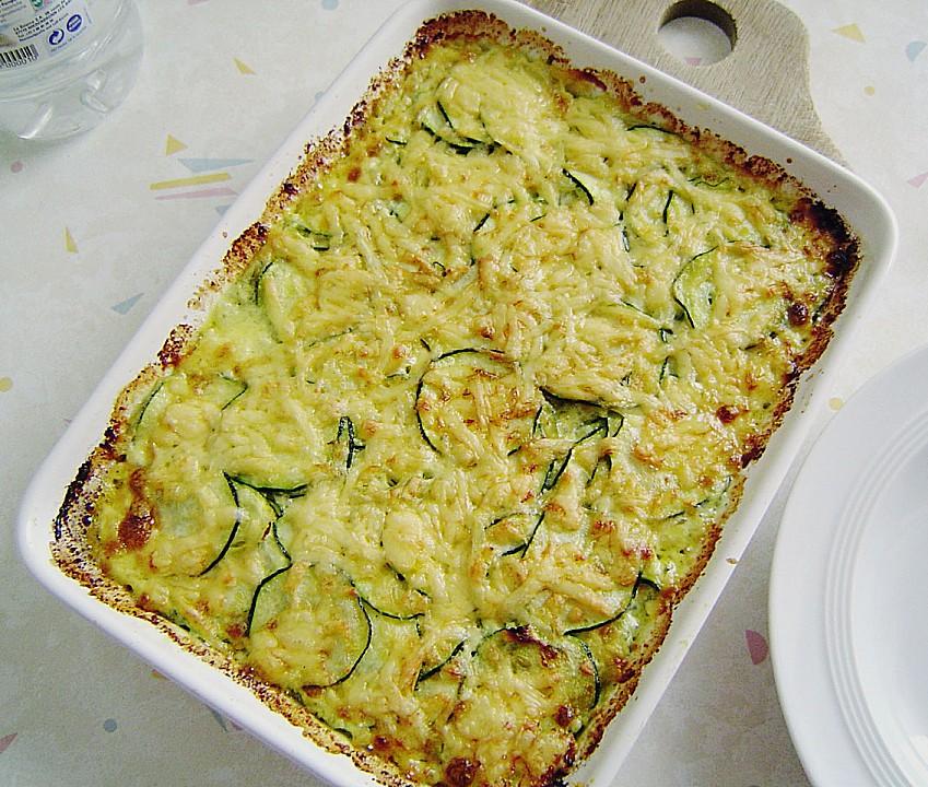 Rezepte mit zucchini auflauf