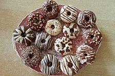 Donuts für die Blechform