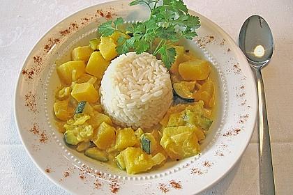 Kürbis - Zucchini - Gemüse indische Art 1
