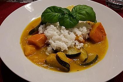 Kürbis - Zucchini - Gemüse indische Art