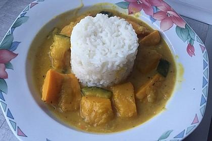 Kürbis - Zucchini - Gemüse indische Art 2