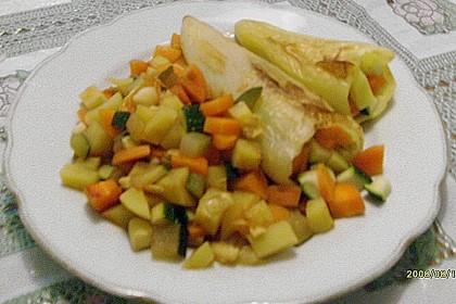 Vegetarisch gefüllte Paprika 13