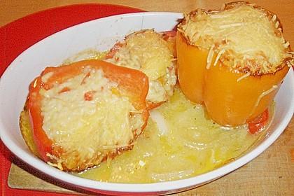 Vegetarisch gefüllte Paprika 9