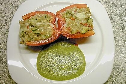 Vegetarisch gefüllte Paprika 5