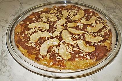 Nuss - Apfel - Schokokuchen 15