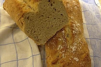 Weizen - Vollkorn - Brot mit Hefe 5