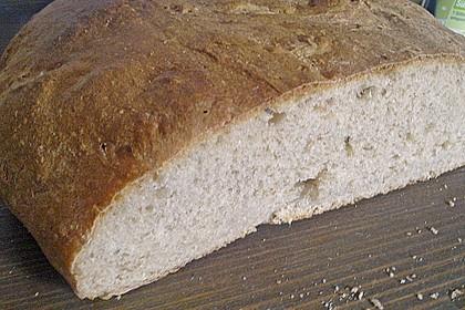 Weizen - Vollkorn - Brot mit Hefe 7