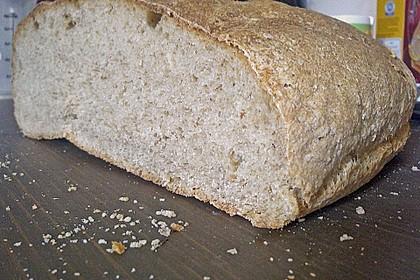 Weizen - Vollkorn - Brot mit Hefe 2