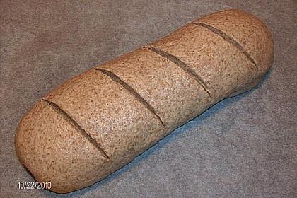Weizen - Vollkorn - Brot mit Hefe 11