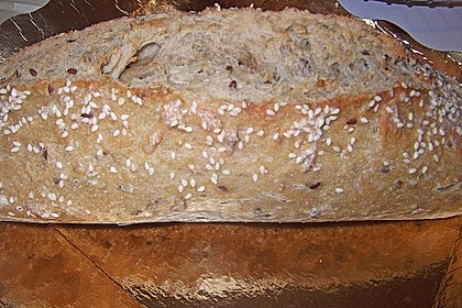 Weizen - Vollkorn - Brot mit Hefe 8