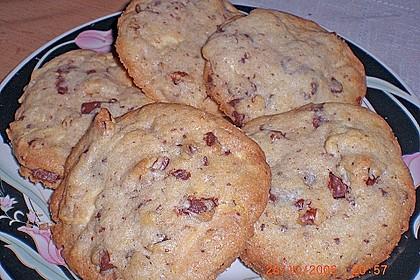 Cookies mit weißer und dunkler Schokolade und Nüssen (aus den USA) 9