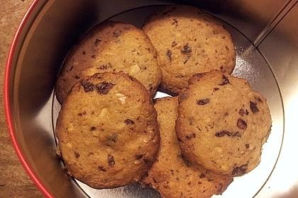 Cookies mit weißer und dunkler Schokolade und Nüssen (aus den USA) 6