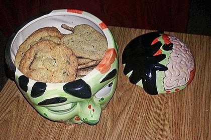 Cookies mit weißer und dunkler Schokolade und Nüssen (aus den USA) 11