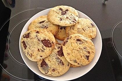 Cookies mit weißer und dunkler Schokolade und Nüssen (aus den USA) 8