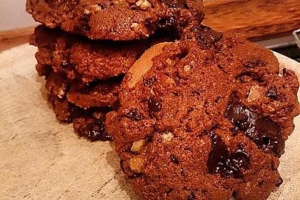 Cookies mit weißer und dunkler Schokolade und Nüssen (aus den USA) 4