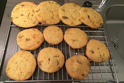 Cookies mit weißer und dunkler Schokolade und Nüssen (aus den USA) 20