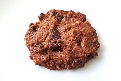 Cookies mit weißer und dunkler Schokolade und Nüssen (aus den USA) 3