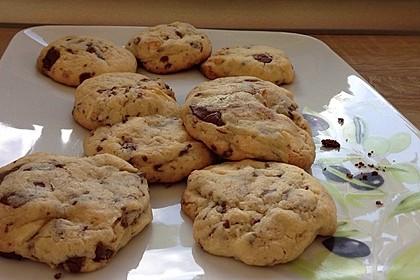 Cookies mit weißer und dunkler Schokolade und Nüssen (aus den USA) 17