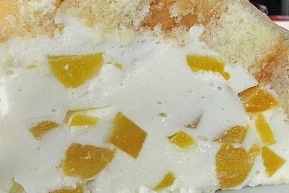 Pfirsich - Charlotte mit Käsesahne 74