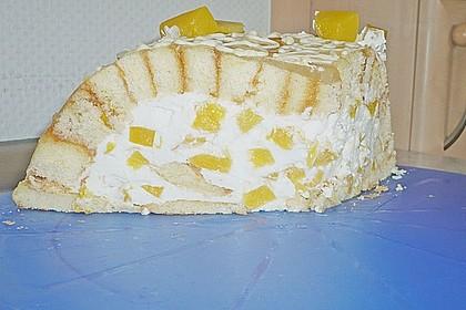 Pfirsich - Charlotte mit Käsesahne 68
