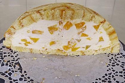 Pfirsich - Charlotte mit Käsesahne 32
