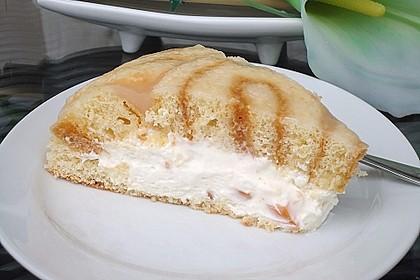 Pfirsich - Charlotte mit Käsesahne 41