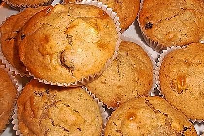 Apfel - Bananen - Muffins
