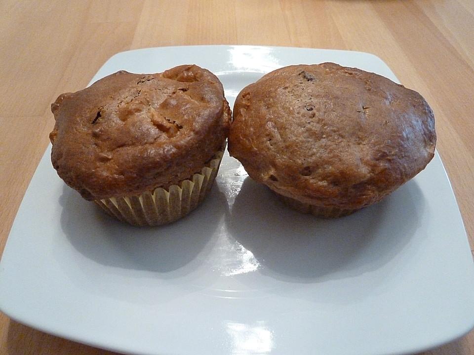 apfel bananen muffins rezept mit bild von bezwinger. Black Bedroom Furniture Sets. Home Design Ideas