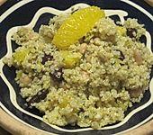 Fruchtiger Quinoasalat mit Bohnenmix (Bild)