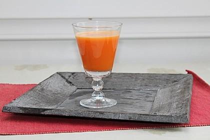 Karotten-Orangen-Kurkuma-Saft