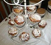 Apfelmuffins mit Mandeln & Cranberries