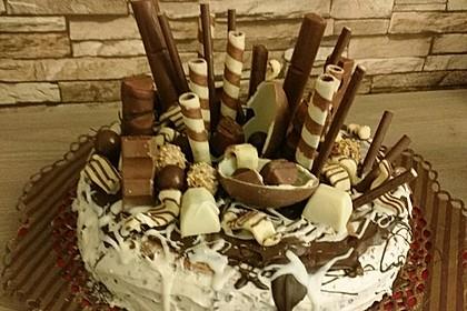 Stracciatella-Schaumkuss-Torte 1