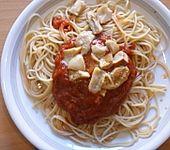 Spaghetti neapolitanische Art (Bild)