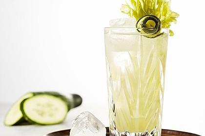 Queen Garden Gin-Cocktail für den Sommer