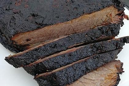 Rinder Spareribs Gasgrill : Beef brisket rinderbrust vom gasgrill von albi84 chefkoch.de