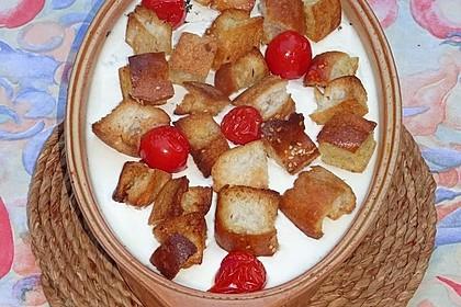 Joghurt-Spinat-Fladenbrot-Auflauf